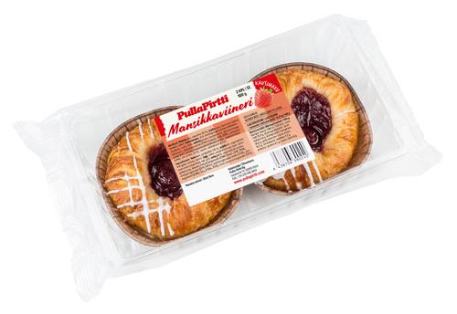 Mansikkaviineri 2 kpl/pkt