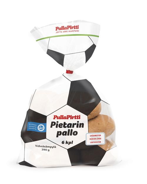 Pietarin Pallo sämpylä 6kpl