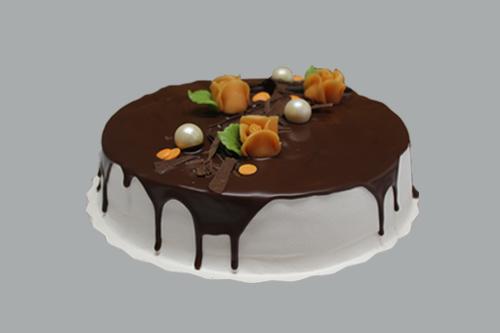 Valuva suklaakakku